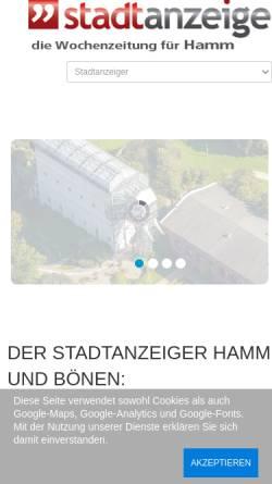 Vorschau der mobilen Webseite www.sonntags-rundblick.de, Sonntags Rundblick