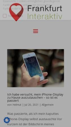 Vorschau der mobilen Webseite www.helmut-brandt.de, Brandt, Helmut (MdB)