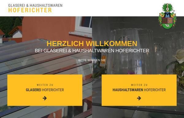 Vorschau von www.glaserei-hoferichter.de, Glaserei und Haushaltswaren Hoferichter
