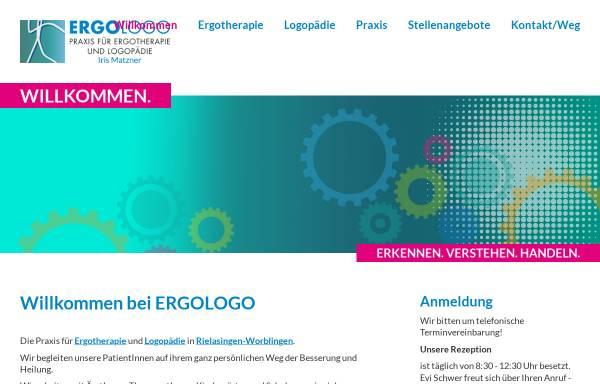 Vorschau von www.ergologo.com, Ergotherapie und Logopädie in der Bodenseeregion