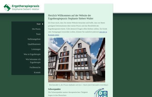 Vorschau von www.ergotherapie-melsungen.de, Ergotherapiepraxis Stephanie Siebert-Walter