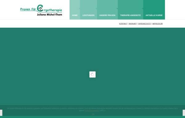 Vorschau von www.ergotherapie-michelthom.de, Ergotherapie Michel-Thom