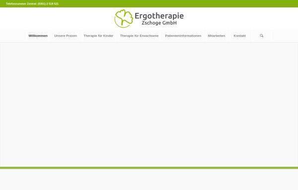 Vorschau von www.ergotherapie-zschoge.de, Ergotherapie Zschoge