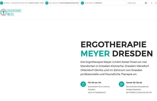 Vorschau von ergomeyer.de, Ergotherapie Meyer UG