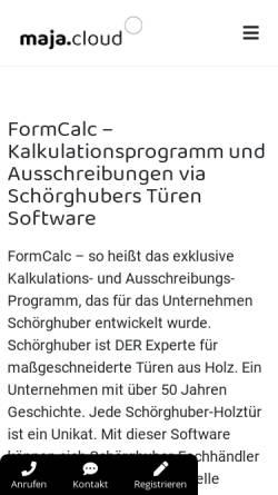 Vorschau der mobilen Webseite www.mkt-gmbh.net, Mkt Markt Kommunikation Trends GmbH