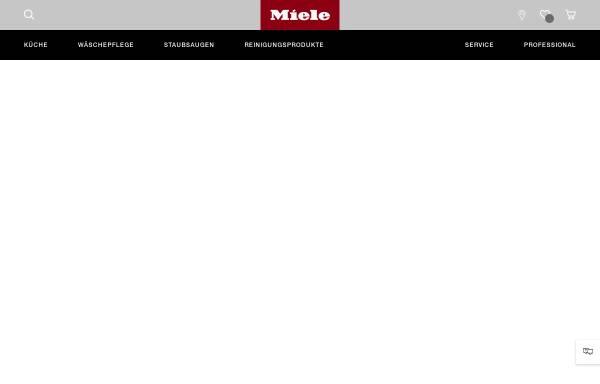 Vorschau von www.miele-professional.de, Miele & Cie. KG