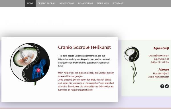 Vorschau von www.cranio-sakral.at, Agnes Groß