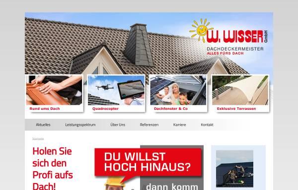 Vorschau von www.wisser-dach.de, W. Wisser GmbH
