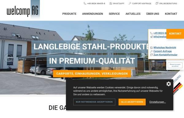 Vorschau von www.carport-welcomp.de, Welcomp AG