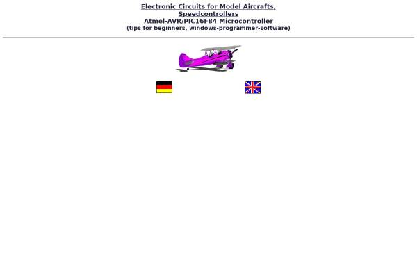 Vorschau von www.speedy-bl.de, Atmel-Mikrocontroller