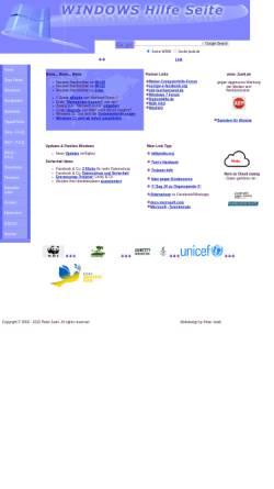 Vorschau der mobilen Webseite www.jasik.de, Windows Hilfe Seite
