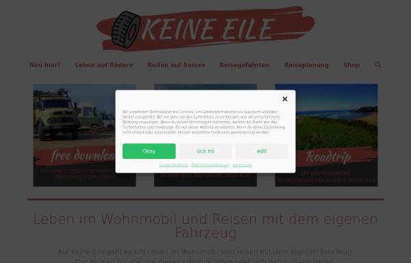 Vorschau von www.keine-eile.de, Keine Eile