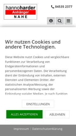 Vorschau der mobilen Webseite www.ap-nahe.de, Hanno Harder Anhänger