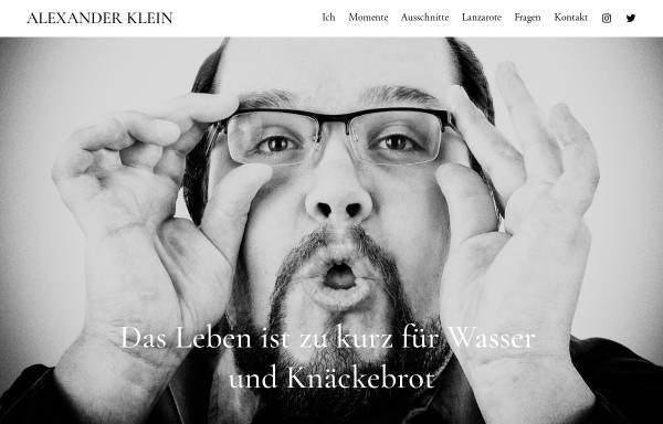 Vorschau von www.klein-alexander.net, Alexander Klein Webdesign und Online-Marketing