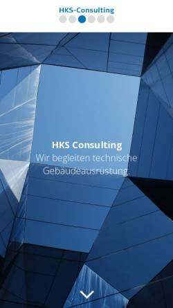 Vorschau der mobilen Webseite www.hks-consulting.de, HKS-Consulting GmbH