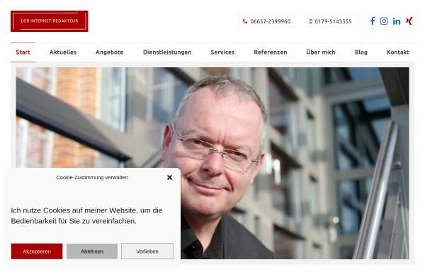 Vorschau von der-internet-redakteur.de, Thomas Noll - Der Internet-Redakteur