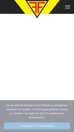 Vorschau der mobilen Webseite www.fisseler-korbach.de, Fr. Fisseler GmbH und Co KG