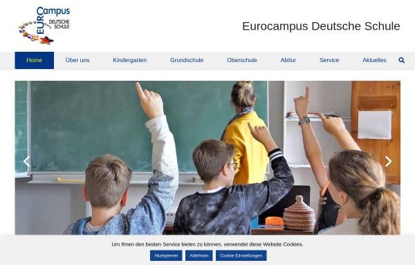 Vorschau von www.dsmallorca.de, Deutsche Schule Mallorca Eurocampus