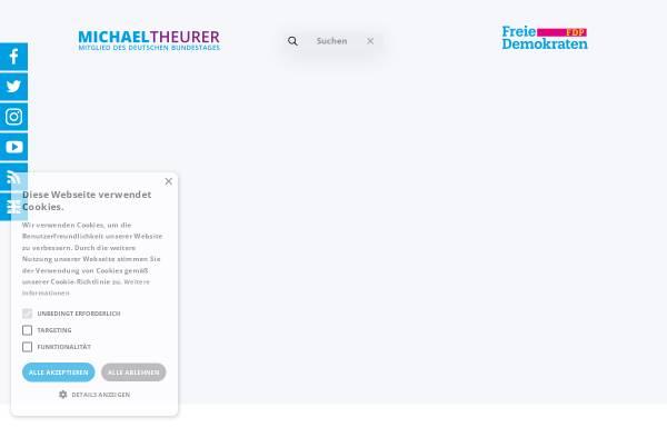 Vorschau von www.michaeltheurer.eu, Theurer, Michael (MdL)