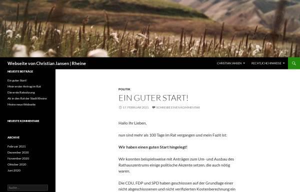 Vorschau von www.christian-jansen.de, Jansen, Christian