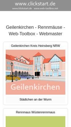 Vorschau der mobilen Webseite www.web-toolbox.net, Jansen, Wilhelm