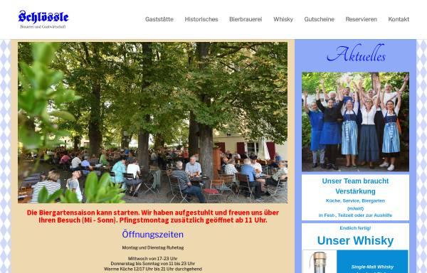 Vorschau von www.schloessle.com, Brauerei-Gasthaus Schloessle
