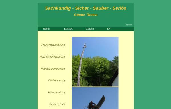 Vorschau von www.problembaumfaellung.de, Thoma, Günther