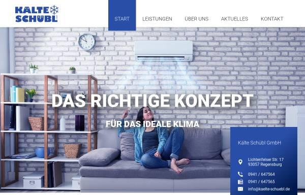 Vorschau von www.kaelte-schuebl.de, Kälte Schübl GmbH