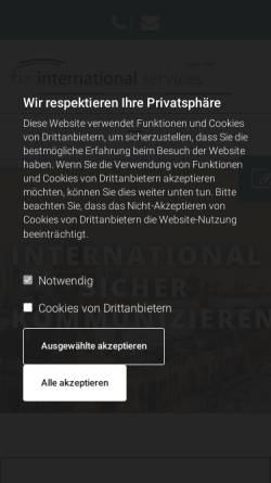 Vorschau der mobilen Webseite www.fix-sprachen.de, Fix International Services GmbH & Co. KG