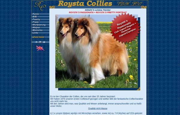 Vorschau von www.roysta.collie.de, Roysta-Collies