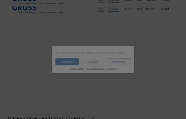 Vorschau von www.gross-innenarchitektur.de, Gross, Stefanie