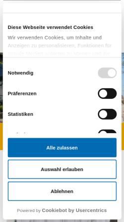Vorschau der mobilen Webseite www.uniklinik-duesseldorf.de, Abteilung für Endokrinologie der Universität