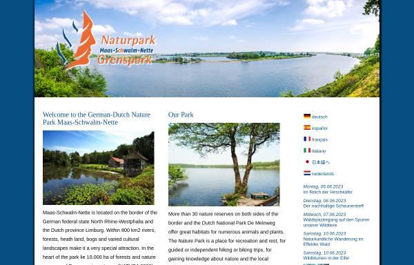 Vorschau von www.grenspark-msn.nl, Naturpark Maas-Schwalm-Nette