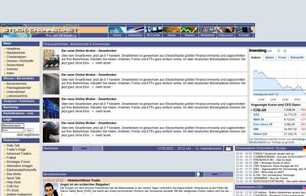Vorschau von www.stock-channel.net, Stock-channel.net
