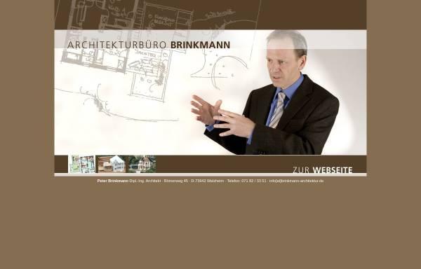 Vorschau von www.brinkmann-architektur.de, Brinkmann, Peter