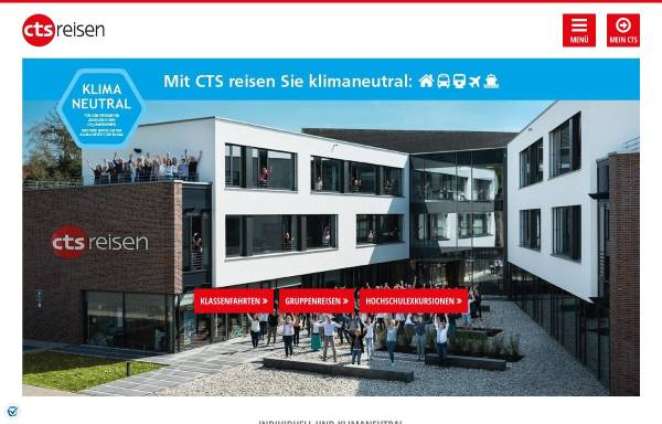 Vorschau von www.cts-reisen.de, CTS Gruppen- und Studienreisen GmbH