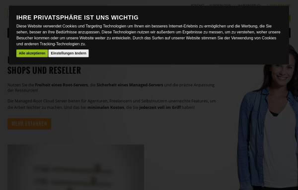 Vorschau von www.hostnet.de, hostNET Medien GmbH