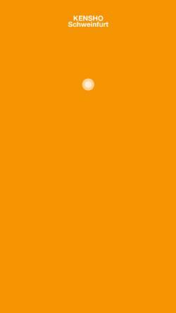 Vorschau der mobilen Webseite www.kensho-sw.de, Kensho Sport-und Gesundheitsszentrum
