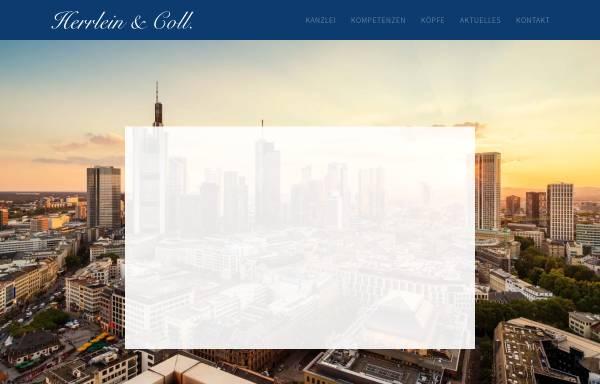 Vorschau von www.herecoll.de, Herrlein & Coll., Rechtsanwälte