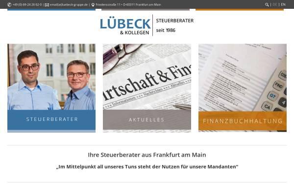 Vorschau von www.luebeckonline.com, LÜBECK StB RAe GbR