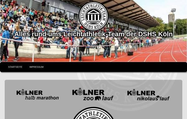 Vorschau von www.koelner-leichtathletik.de, LG ASV DSHS Köln
