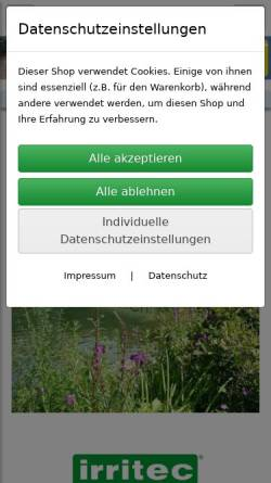Vorschau der mobilen Webseite www.aquateam-shop.de, AquaTeam GmbH