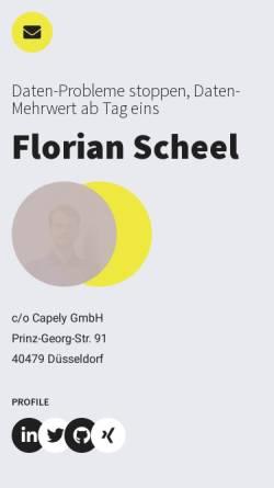 Vorschau der mobilen Webseite www.handy-heute.de, Handy-heute.de