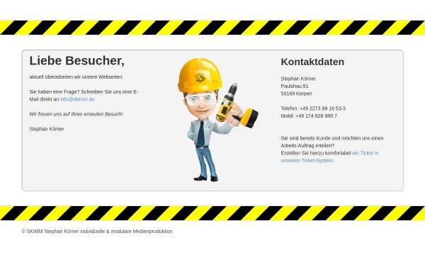 Vorschau von www.skimm.org, SKIMM - Stephan Körner - Grafik- und Medien-Produktion