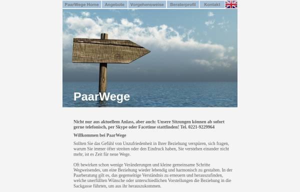 Vorschau von www.paarwege.de, PaarWege
