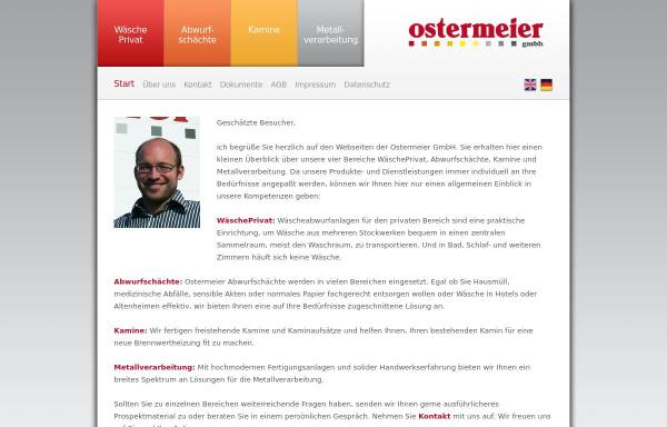 Vorschau von www.ostermeier-gmbh.com, Klaus Ostermeier GmbH