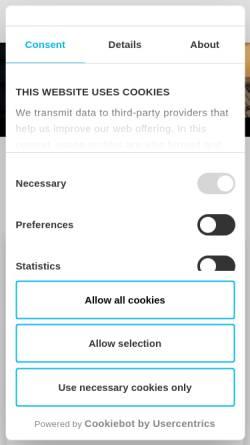 Vorschau der mobilen Webseite www.creaton.de, Dach und Fassade