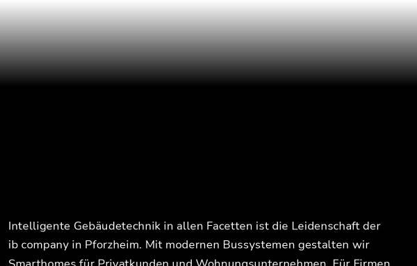 Vorschau von www.ib-company.de, Ib Company GmbH