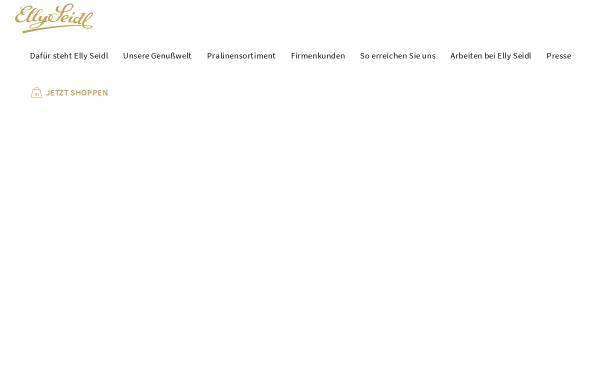Vorschau von www.ellyseidl.com, Elly Seidl GmbH