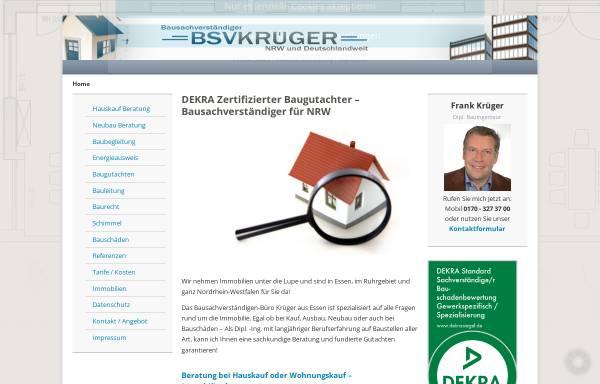 Vorschau von www.bsv-krueger.de, Krüger, Frank